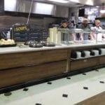 Convertible Hot Cold Food Lineup with Soup Counter Goes from Full to Self Service - Atlantic Food Bars - HCCSFB15640 SW4840 1Convertible Hot Cold Food Lineup with Soup Counter Goes from Full to Self Service - Atlantic Food Bars - HCCSFB15640 SW4840 1