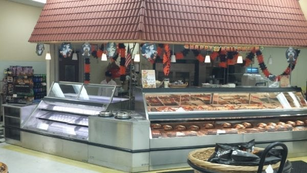 Combination Service Hot Food and Refrigerated Sushi Merchandiser with Wedge Soup - Atlantic Food Bars - TTN14444 SILR724