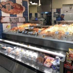Refrigerated Seafood Merchandisers with Wedge and Front Grab and Go Knee Knockers for Cold Packaged Food - Atlantic Food Bars - FSC-KKV FSCN-W2 3