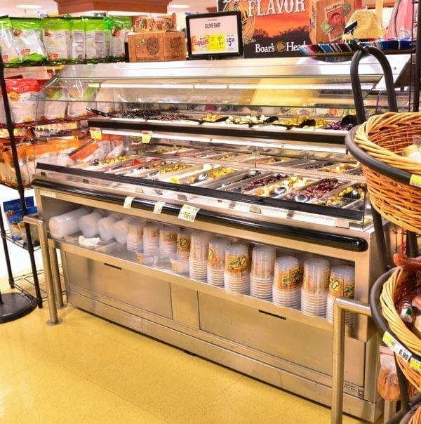 2 Level Refrigerated Olive Bar - Atlantic Food Bars - BILR7235-LP 3