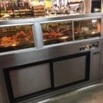Combination Full Service Hot Bulk Food Over Self-Service Cold Food with Grease Catcher and Jewelry Style Top - ILRTTN10048-CUSTOM 3