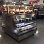 Combination Hot Over Cold Grab & Go Merchandiser - Double Sided - Atlantic Food Bars - HCIT4862-LP 3