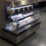 Combination Hot Over Cold Grab & Go Merchandiser - Double Sided - Atlantic Food Bars - HCIT4862-LP 4