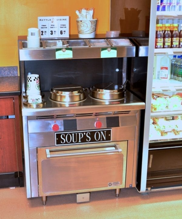 Narrow Soup Bar and Chowder Station - Soup's On - Atlantic Food Bars - SOG3618N 4