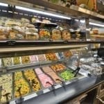 Salad Bar and Soup Bar with Overhead Refrigerated Grab and Go Canopy - Atlantic Food Bars - SLSB19236 SOG4836-RC 2