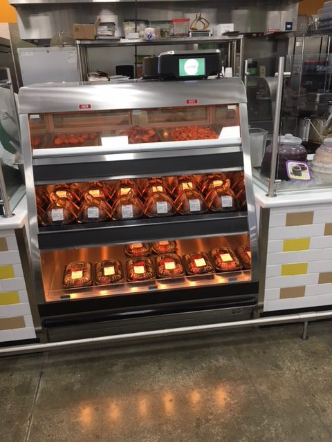 Titan Combination Full Service Bulk Hot Over Self Service Packaged Hot Food Merchandiser - Atlantic Food Bars - TTN2-4839 4