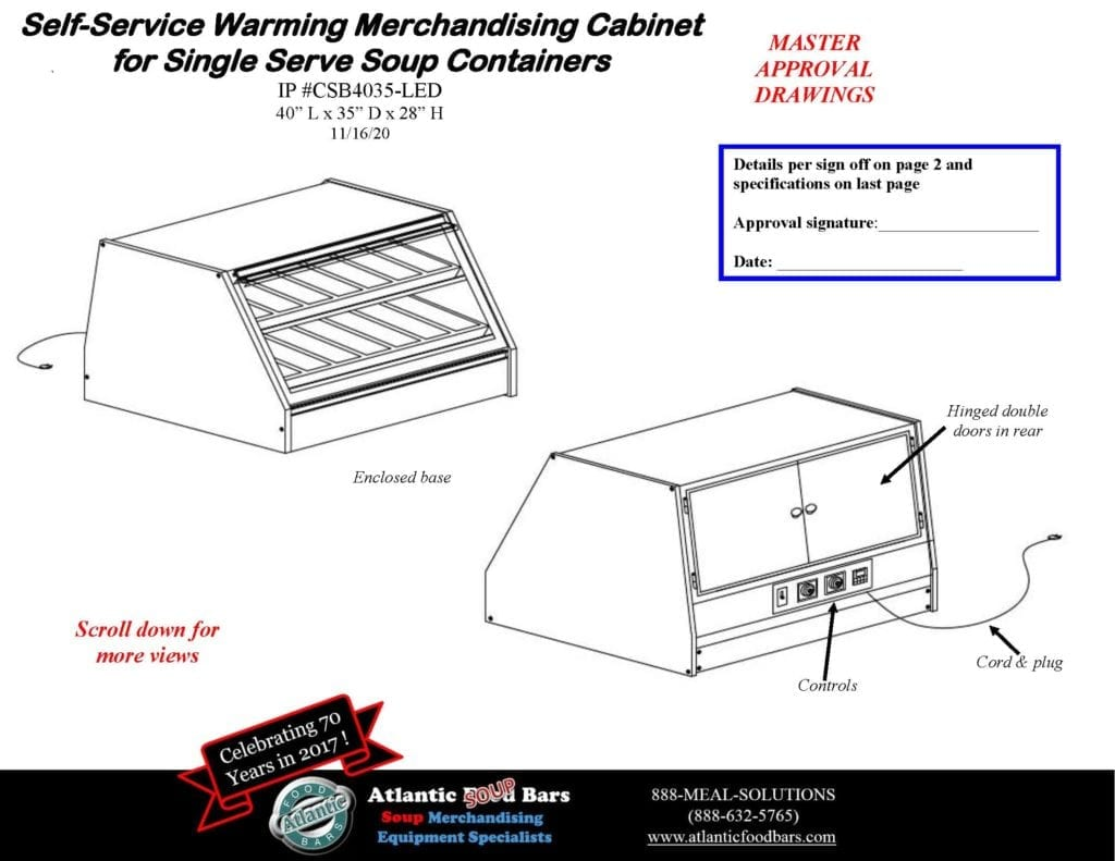 Atlantic Food Bars - Single and Double Sided Hot Soup Saver for Conversion to Grab and Go Soup Merchandising - CSB Drawings_Page_1