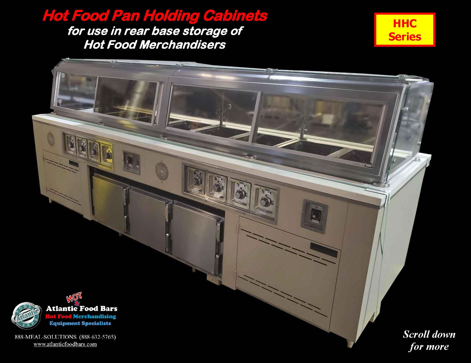 Atlantic Food Bars - Hot Food Pan Holding Cabinets for use in rear base storage of hot food merchandisers - HHC_Page_2