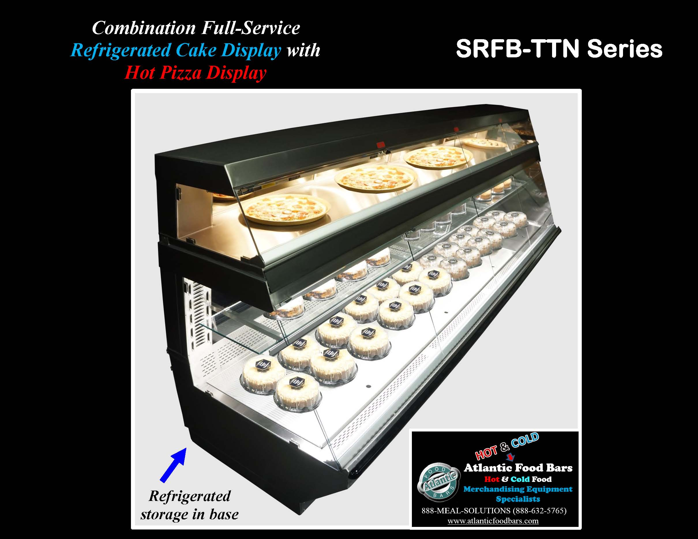 Atlantic Food Bars - Combination Full-Service Refrigerated Cake Display Case with Full Service Hot Pizza Display - SRFB-TTN14440_Page_3