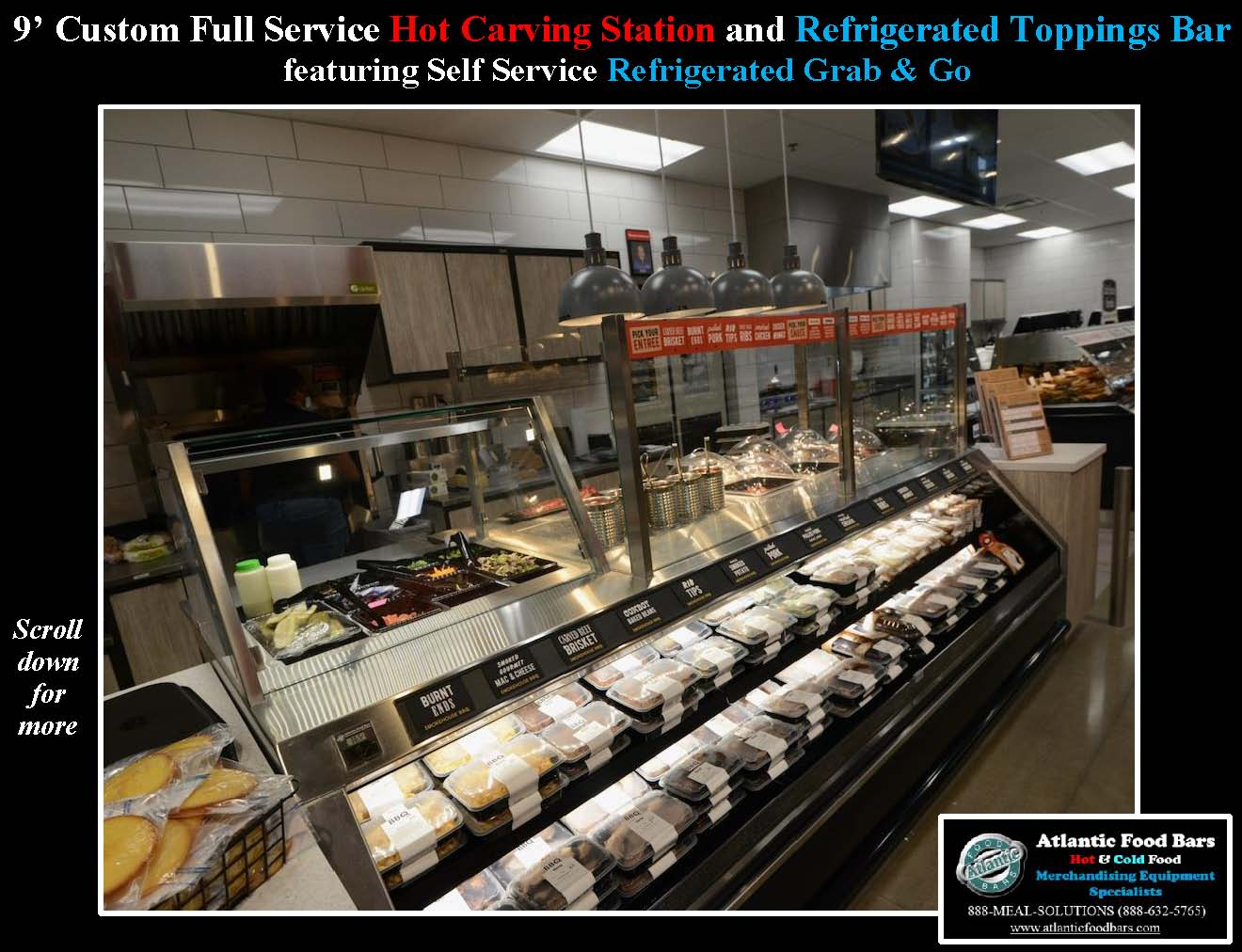 Atlantic Food Bars - Hot and Cold Prepared Foods Lineup including Custom Carving Station and Toppings Bar, Hot Packaged Food and Refrigerated Grab and Go - WRGCL SHFB_Page_2
